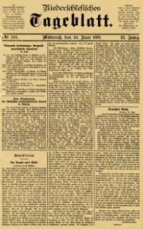 Niederschlesisches Tageblatt, no 144 (Mittwoch, den 24. Juni 1885)