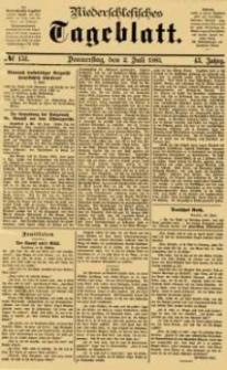 Niederschlesisches Tageblatt, no 151 (Donnerstag, den 2. Juli 1885)