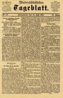 Niederschlesisches Tageblatt, no 171 (Sonnabend, den 25. Juli 1885)