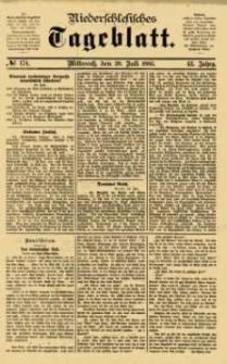 Niederschlesisches Tageblatt, no 174 (Mittwoch, den 29. Juli 1885)