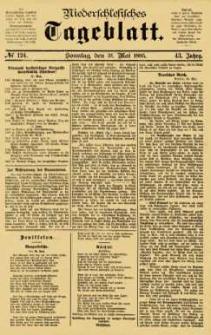 Niederschlesisches Tageblatt, no 124 (Sonntag, den 31. Mai 1885)