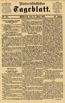 Niederschlesisches Tageblatt, no 138 (Mittwoch, den 17. Juni 1885)