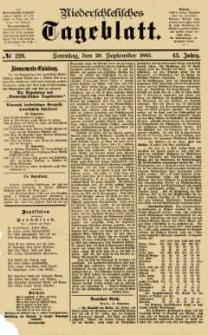 Niederschlesisches Tageblatt, no 220 (Sonntag, den 20. September 1885)