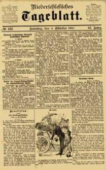 Niederschlesisches Tageblatt, no 232 (Sonntag, den 4. Oktober 1885)