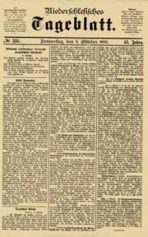 Niederschlesisches Tageblatt, no 235 (Donnerstag, den 8. Oktober 1885)