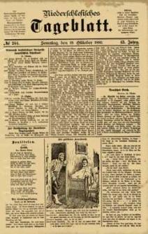 Niederschlesisches Tageblatt, no 244 (Sonntag, den 18. Oktober 1885)