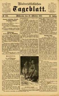 Niederschlesisches Tageblatt, no 252 (Mittwoch, den 28. Oktober 1885)