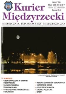 Kurier Międzyrzecki. Miesięcznik Informacyjny Międzyrzeczan, nr 5 (maj 1998 r.)