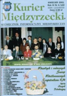Kurier Międzyrzecki. Miesięcznik Informacyjny Międzyrzeczan, nr 4 (kwiecień 2001 r.)
