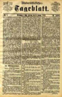 Niederschlesisches Tageblatt, no 5 (Grünberg i. Schl., Freitag, den 6. Januar 1893)