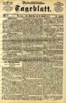 Niederschlesisches Tageblatt, no 10 (Grünberg i. Schl., Donnerstag, den 12. Januar 1893)