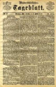 Niederschlesisches Tageblatt, no 13 (Grünberg i. Schl., Sonntag, den 15. Januar 1893)
