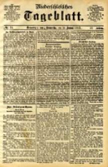 Niederschlesisches Tageblatt, no 16 (Grünberg i. Schl., Donnerstag, den 19. Januar 1893)