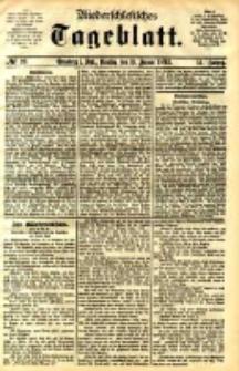 Niederschlesisches Tageblatt, no 26 (Grünberg i. Schl., Dienstag, den 31. Januar 1893)