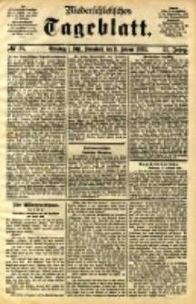 Niederschlesisches Tageblatt, no 36 (Grünberg i. Schl., Sonnabend, den 11. Februar 1893)