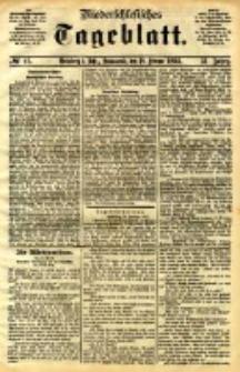 Niederschlesisches Tageblatt, no 42 (Grünberg i. Schl., Sonnabend, den 18. Februar 1893)