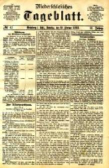 Niederschlesisches Tageblatt, no 43 (Grünberg i. Schl., Sonntag, den 19. Februar 1893)