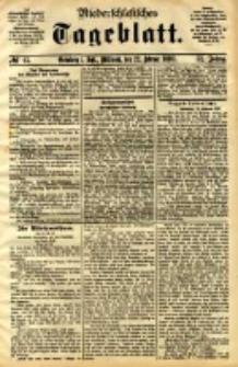 Niederschlesisches Tageblatt, no 45 (Grünberg i. Schl., Mittwoch, den 22. Februar 1893)