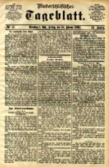Niederschlesisches Tageblatt, no 47 (Grünberg i. Schl., Freitag, den 24. Februar 1893)