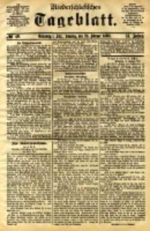 Niederschlesisches Tageblatt, no 49 (Grünberg i. Schl., Sonntag, den 26. Februar 1893)