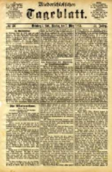 Niederschlesisches Tageblatt, no 56 (Grünberg i. Schl., Dienstag, den 7. März 1893)