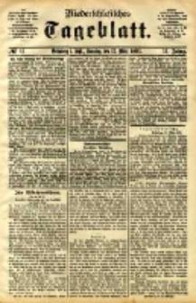 Niederschlesisches Tageblatt, no 61 (Grünberg i. Schl., Sonntag, den 12. März 1893)