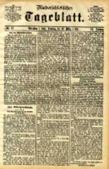 Niederschlesisches Tageblatt, no 67 (Grünberg i. Schl., Sonntag, den 19. März 1893)