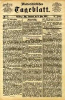 Niederschlesisches Tageblatt, no 72 (Grünberg i. Schl., Sonnabend, den 25. März 1893)