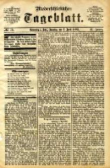 Niederschlesisches Tageblatt, no 78 (Grünberg i. Schl., Sonntag, den 2. April 1893)