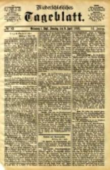 Niederschlesisches Tageblatt, no 83 (Grünberg i. Schl., Sonntag, den 9. April 1893)