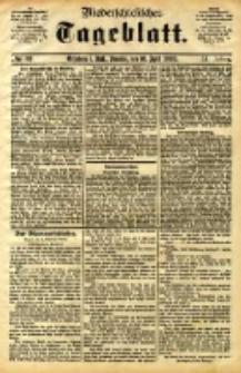 Niederschlesisches Tageblatt, no 89 (Grünberg i. Schl., Sonntag, den 16. April 1893)