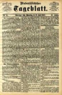 Niederschlesisches Tageblatt, no 92 (Grünberg i. Schl., Donnerstag, den 20. April 1893)