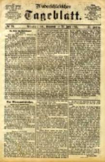 Niederschlesisches Tageblatt, no 94 (Grünberg i. Schl., Sonnabend, den 22. April 1893)