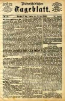 Niederschlesisches Tageblatt, no 95 (Grünberg i. Schl., Sonntag, den 23. April 1893)