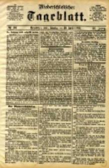 Niederschlesisches Tageblatt, no 101 (Grünberg i. Schl., Sonntag, den 30. April 1893)
