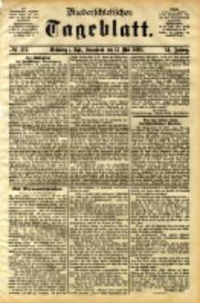 Niederschlesisches Tageblatt, no 111 (Grünberg i. Schl., Sonnabend, den 13. Mai 1893)