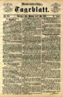Niederschlesisches Tageblatt, no 114 (Grünberg i. Schl., Mittwoch, den 17. Mai 1893)