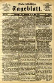 Niederschlesisches Tageblatt, no 115 (Grünberg i. Schl., Donnerstag, den 18. Mai 1893)
