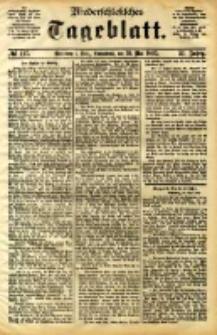 Niederschlesisches Tageblatt, no 117 (Grünberg i. Schl., Sonnabend, den 20. Mai 1893)