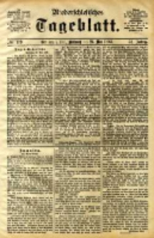 Niederschlesisches Tageblatt, no 119 (Grünberg i. Schl., Mittwoch, den 24. Mai 1893)