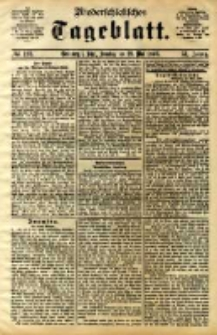 Niederschlesisches Tageblatt, no 123 (Grünberg i. Schl., Sonntag, den 28. Mai 1893)