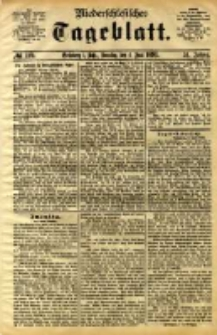 Niederschlesisches Tageblatt, no 129 (Grünberg i. Schl., Sonntag, den 4. Juni 1893)