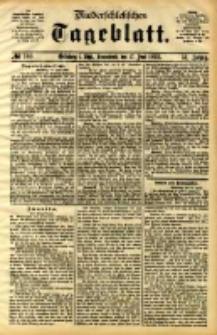 Niederschlesisches Tageblatt, no 140 (Grünberg i. Schl., Sonnabend, den 17. Juni 1893)