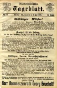 Niederschlesisches Tageblatt, no 146 (Grünberg i. Schl., Sonnabend, den 24. Juni 1893)