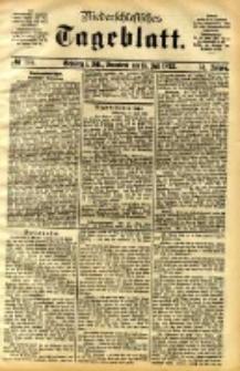 Niederschlesisches Tageblatt, no 164 (Grünberg i. Schl., Sonnabend, den 15. Juli 1893)