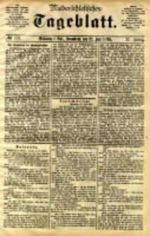 Niederschlesisches Tageblatt, no 170 (Grünberg i. Schl., Sonnabend, den 22. Juli 1893)