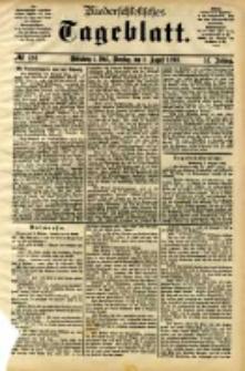 Niederschlesisches Tageblatt, no 184 (Grünberg i. Schl., Dienstag, den 8. August 1893)