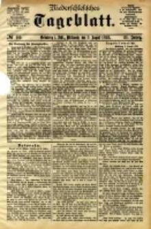 Niederschlesisches Tageblatt, no 185 (Grünberg i. Schl., Mittwoch, den 9. August 1893)