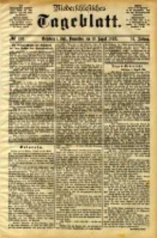 Niederschlesisches Tageblatt, no 186 (Grünberg i. Schl., Donnerstag, den 10. August 1893)