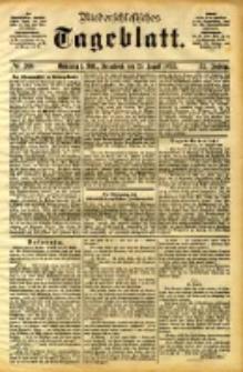 Niederschlesisches Tageblatt, no 200 (Grünberg i. Schl., Sonnabend, den 26. August 1893)